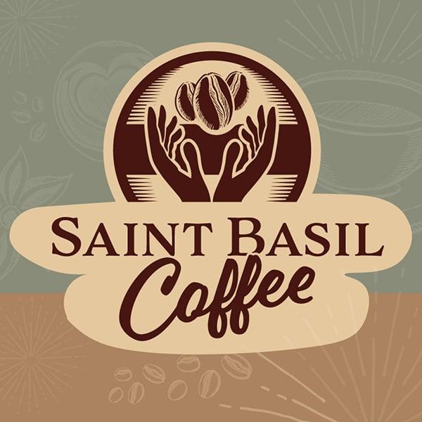 Saint Basil Coffee Logo and styling